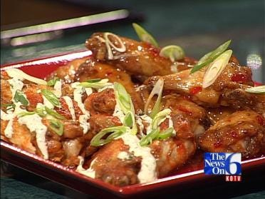 Hot Wings Two Ways - Sweet and Savory
