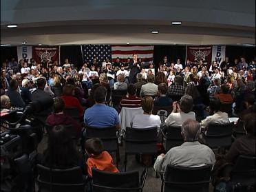 John Edwards Brings Presidential Campaign To Tulsa