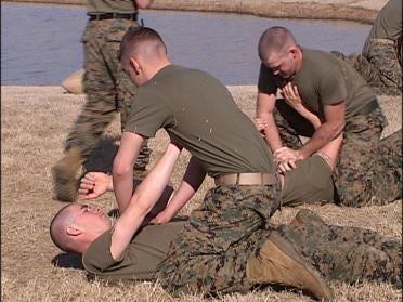 Marines Undergo Special Training