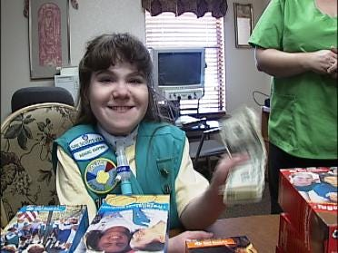 Girl Sells 1,000 Boxes Of Cookies