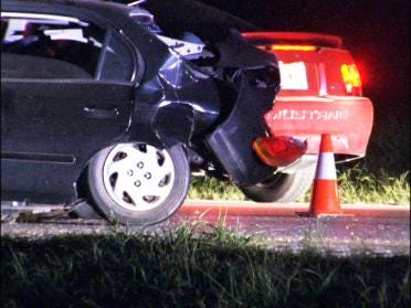 Officer Involved In Crash Resigns