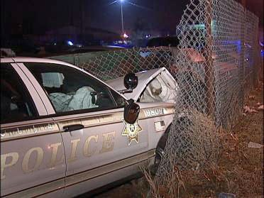 Police Officer Involved In Overnight Accident