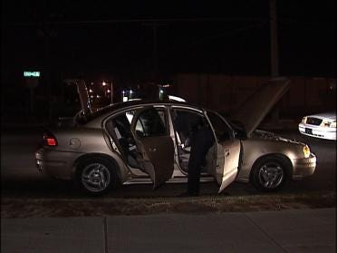 Gang Task Force Involved In Traffic Stop
