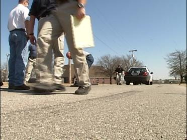 Troopers Learn To Use Laser For Crash Probes