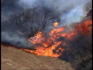 Brush Fires Keeps Firefighters Busy