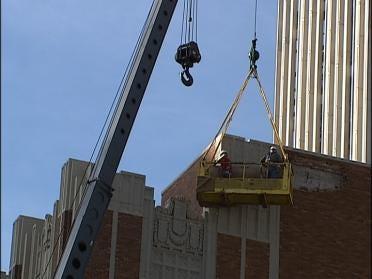 Falling Bricks Prompt Repairs