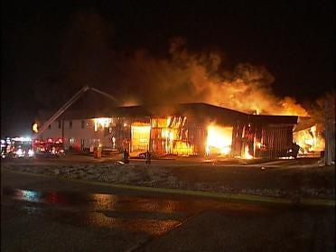 Overnight Fire Destroys Business