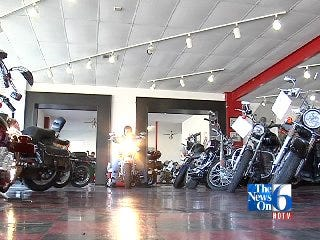 Motorcyclists Preparing For Warmer Weather