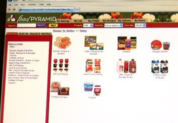 Grocery Shopping With A Click Of Your Mouse