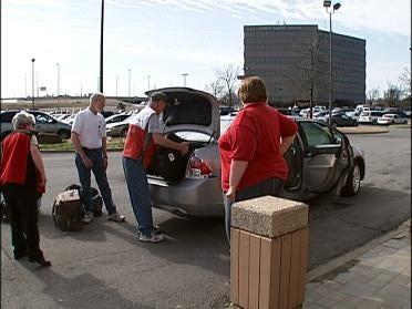 Red Cross Volunteers Dispatch To Arkansas
