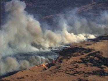 Firefighters Injured Fighting Wildfire