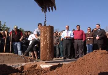 Jenks Time Capsule Unearthed
