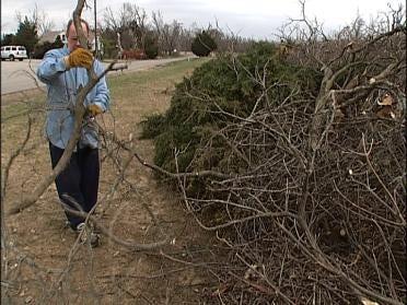 Smaller Towns Still Dealing With Debris