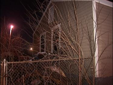 Candle Sparks House Fire