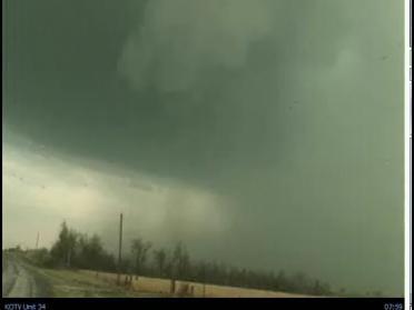 Storms Prompt Tornado Warnings
