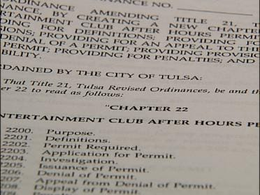 Bar Owners React To Proposed Ordinance