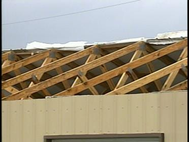 Hominy Cleaning Up After Apparent Tornado