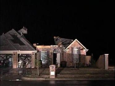 Tornadic Storms Roll Across NE Oklahoma