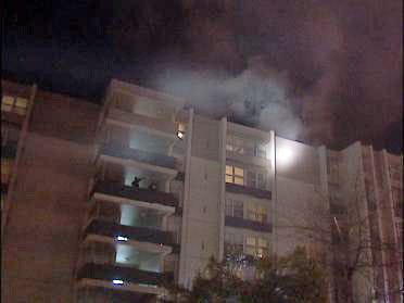Elderly Residents Evacuated After Fire