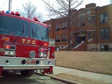 Arson Suspected In School Fire