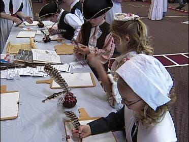 Students Take A Trip Back In Time
