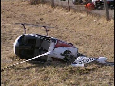 Helicopter Crashes West Of Tulsa