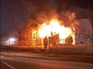 Crews Say Arson Involved In House Fire