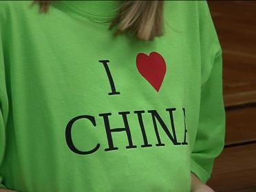 Students Take Field Trip To China