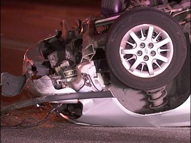 Apparent Case Of Road Rage Leads To Accident