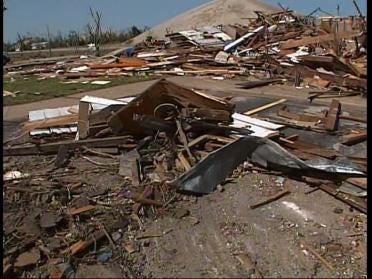 Governor Tours Damage In Picher