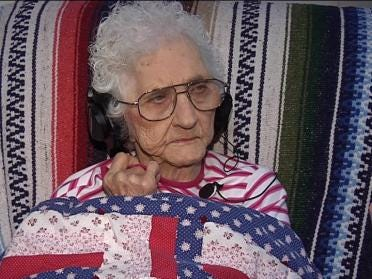 Mom Turns 100 On Mother's Day