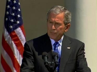 President Bush Issues Disaster Declaration