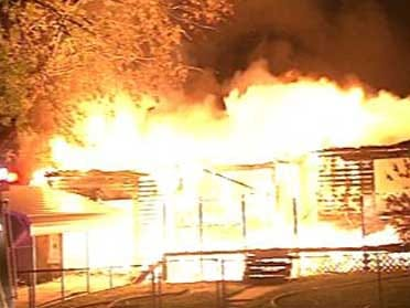 Investigators Say Fire Was Set On Purpose