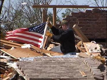 Tornado Victims Urged To Contact Red Cross