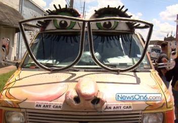 Art Car Weekend Revving Up