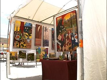 Art Festival Takes Over Blue Dome District
