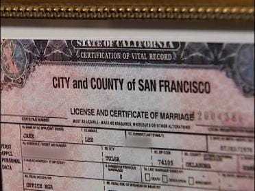 Gay Marriage Ruling Hits Close To Home