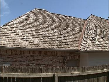 Roof Repairs Continue After Hail Storm