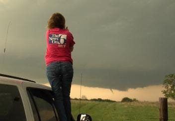 Tracking Storms With WARN Team Meteorologist Katie Green