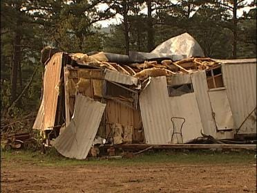 Small Town Deals With Tornado Fallout