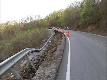 Keetonville Road Repair Continues