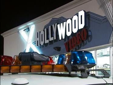 Armed Robbery At Video Store