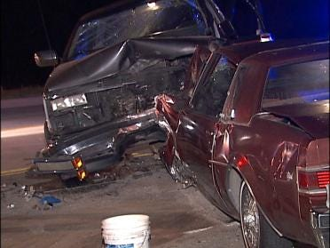One Arrested, Two Recovering After Accident