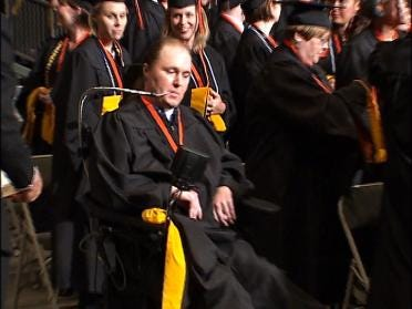 Overcoming Difficult Odds To Graduate