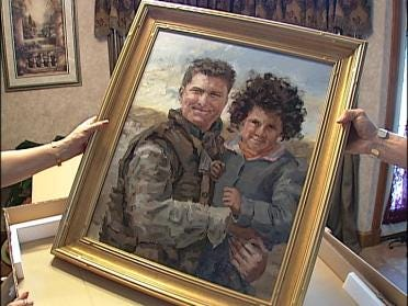 Artist Captures Spirit Of Fallen Heroes