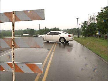 Heavy Rains Close Bridge