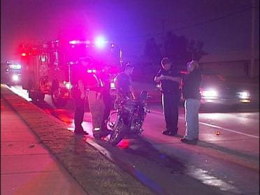 Motorcycle Accident Injures One