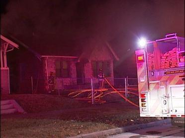 Fire Damages West Tulsa Home