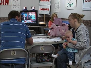 Inhofe Supporters Pushing For Votes