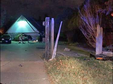Driver Crashes Car Into Homeowner's Garage
